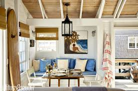sloped ceiling design ideas adorable nautical living room