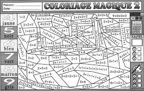 02 Tout pour les Maths CE1 BLOG GS CP CE1 CE2 de  coloriage magique