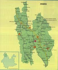 Xiamen China Map by Shangri La Location U0026 Zhongdian Map China Maps Map Manage