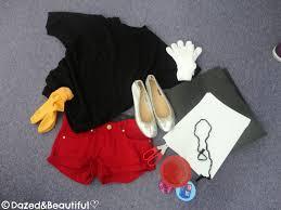 Mickey Mouse Halloween Shirt by Diy Mickey Mouse Costume U2013 Dazed U0026beautiful