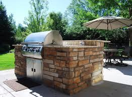 Outdoor Barbecue Outdoor Kitchen Denver Landscape Connection