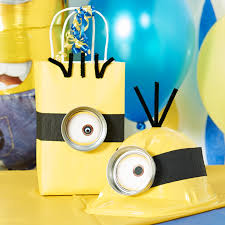 minion centerpieces diy minions party ideas birthday express