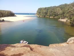 20 Great Dog Walks Around Sydney And Central Coast Australian Wattamolla Beach Lagoon And Jump Rock Sydney