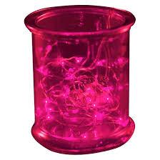 3ct lumabase pink led submersible mini string lights target