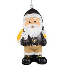 pittsburgh penguins coach santa ornament shop nhl