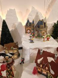 dept 56 halloween sale disney castle in my north pole department 56 christmas village for