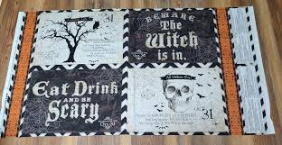halloween placemat something wicked