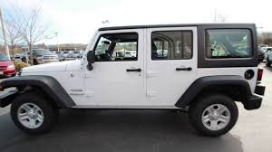 white jeep 2017 2017 jeep wrangler unlimited sport bright white hl587496
