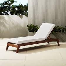 White Wood Outdoor Furniture by Filaki Wooden Outdoor Lounge Chair Cb2