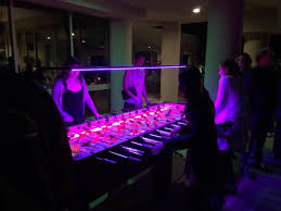 Table Rentals San Antonio by 8 Player Led Foosball Table Rentals Austin San Antonio Texas
