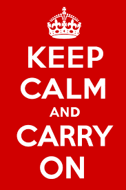 Original Keep Calm Meme - keep calm and carry on the compromise behind the slogan