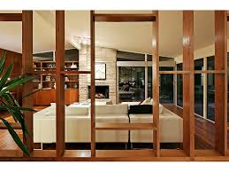 mid century wood room divider screens images google search