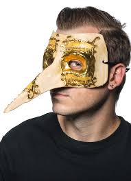 mens venetian mask nose venetian mask in and gold