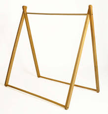 Wooden Tent by A Frame Tent White Curioo Wooden Toys