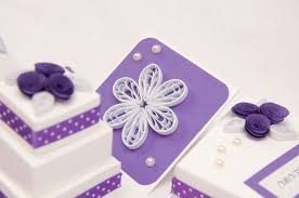 wedding cakes ideas sweet purple wedding cake boxes combined with