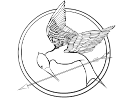hunger games coloring pages u2013 mockingjay projects to try
