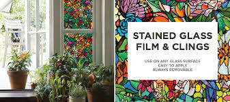 Window Decor Film Window Film Stained Glass Be Equiped Decorative Films Be Equiped