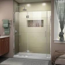 Shower Hinged Door Hinged Shower Doors For Less Overstock