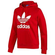 adidas originals trefoil hoodie hoody pullover sizes s xl black