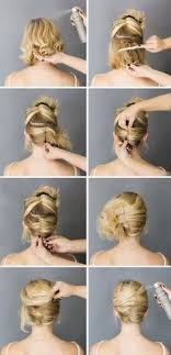 black tie hair updos 15 cute and easy hairstyle tutorials for medium length hair