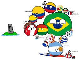 South America Flags Polandball Map Explained South America Album On Imgur