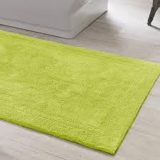 signature green bath rug the outlet