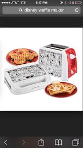 Mickey kitchen roster and waffle maker disney stuff