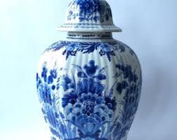 Ginger Jar Vase Delft Ginger Jar Etsy