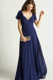 navy maxi dress morning lavender