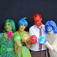 inside out costumes disgust rage and sadness from inside out geeky