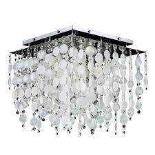 capiz flush mount light glow lighting cityscape capiz shell and crystal 5 light flush mount