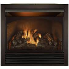 Fireplace Chain Screens - forge dual fuel vent free fireplace insert with trim chimney open