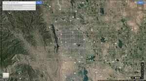 Colorado Google Maps by Fort Collins Colorado Map