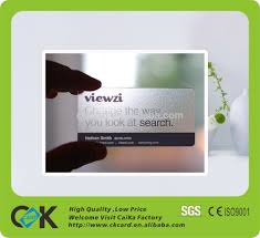 clear buisness cards eco friendly clearly transparent business card eco friendly