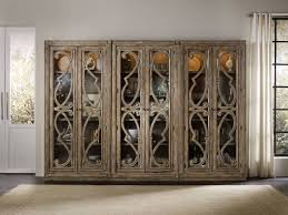 Curio Cabinet Furniture Hooker Furniture Living Room Solana Bunching Curio Cabinet 5291 50001