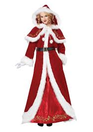 christmas costume deluxe classic mrs claus costume