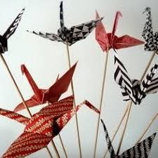 dã coration table mariage marque place fleur de lotus en origami vert pour mariage