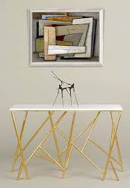 Gold Console Table 10 Stunning Gold And White Console Table Designs Consoles White