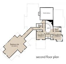 Second Floor House Plans Craftsman Style House Plan 4 Beds 4 00 Baths 3069 Sq Ft Plan