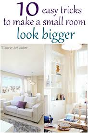 how to make a small room look bigger with paint how to make a small room look bigger decor by the seashore