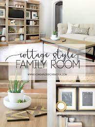 Cozy Cottage Family Room Home Made By Carmona - Cottage family room