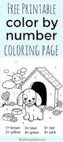 free printable number coloring pages color by number gorilla free coloring worksheets and learning