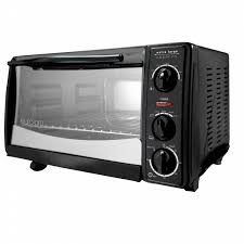 Toaster Oven Kmart Euro Pro 6 Slice Toaster Oven Black W 12 Pizza Bump Shop Your