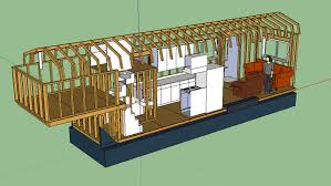 Micro House Floor Plans Awesome Tiny House Design On A Gooseneck Trailer Description From