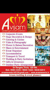 Event Planners 73 Best Avsam Wedding U0026 Event Planners Images On Pinterest