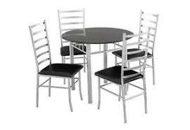 Glass Dining Sets 4 Chairs Lincoln Dining Set 4 Seater Black Glass Dining Table 4 Chairs