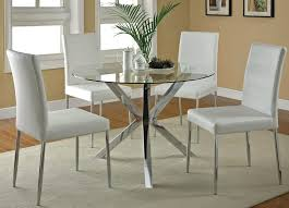 traditional round glass dining table traditional innovative glass round dining table set on for 4