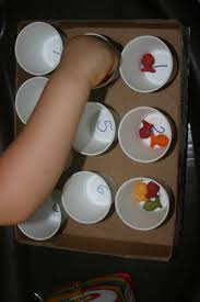 halloween dixie cups dixie cup counting activity lines across