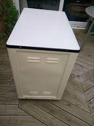 Vintage Enamel Top Kitchen Cabinet by Retro Vintage 1930 U0027s 40 U0027s White Enamel Top Kitchen Cabinet In