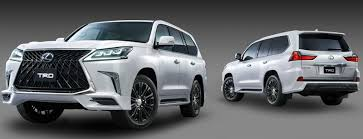 lexus suv parts lexus lx 570 looking sporty in japan with trd parts